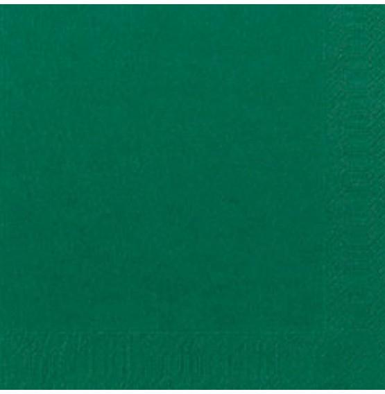 Duni Tissue Napkins 2ply Dark Green