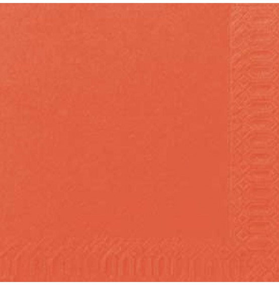 Duni Tissue Napkins 2ply Mandarin