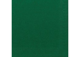 Duni Tissue Napkins 2ply Dark Green