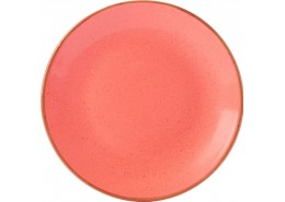 Seasons Coral Coupe Plate