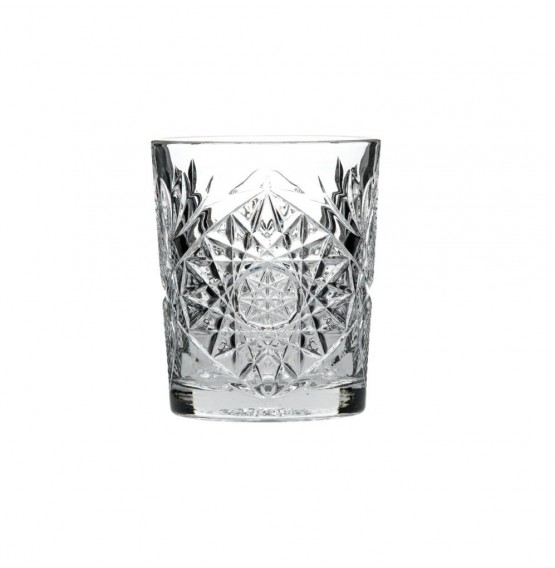 Hobstar Double Old Fashioned Glass