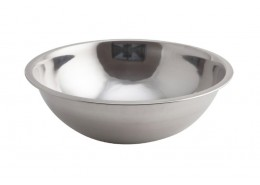 Curved Side Flat Bottom Mixing Bowl