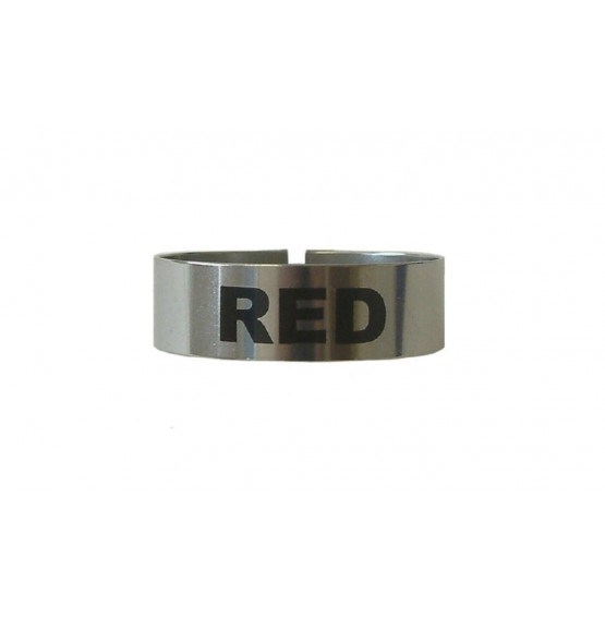 Identi Clip Large Red