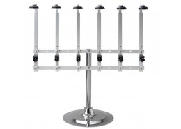 Single Pillar 6 Bottle Stand with Heavy Base