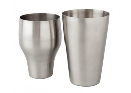 Mezclar French Shaker Stainless Steel