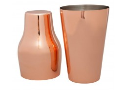 Mezclar French Shaker Copper Plated