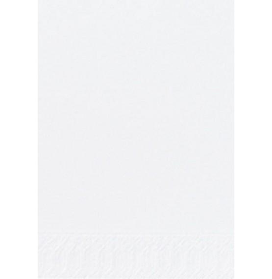 Duni Tissue Napkins 3ply 1/8 Bookfolded White