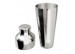 Mezclar Stainless Steel 2 Piece Art Deco Shaker