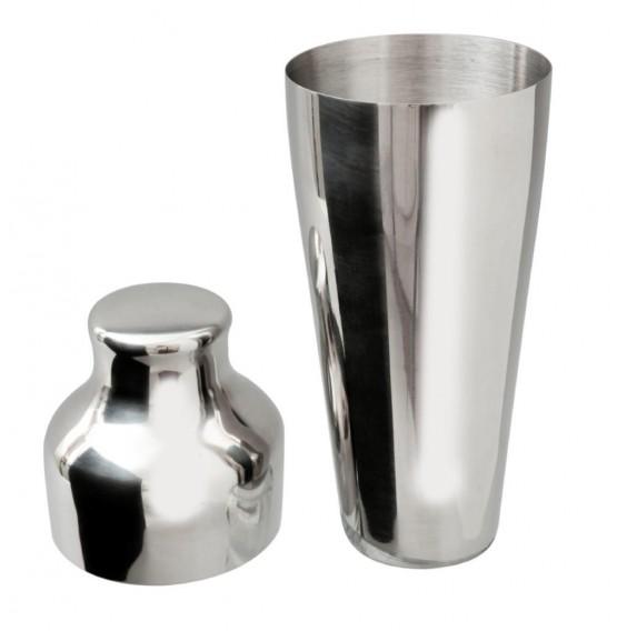 Mezclar Stainless Steel 2 Piece Art Deco Shaker