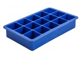 Ice Mould 15 Section Silicone Blue