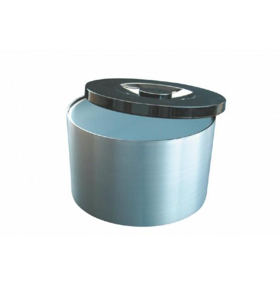 Plastic Ice Bucket Brushed 10L