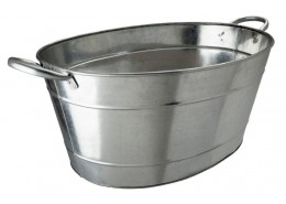 Galvanised Steel Beverage Tub 25Ltr