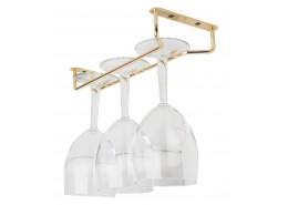 Glass Hanger Brass