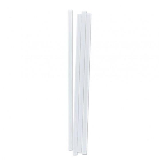 Clear Straight Jumbo Straw