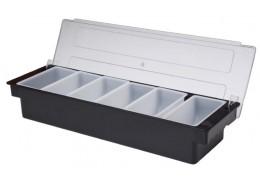 Condiment Holder 6 Compartment x 1 Pint