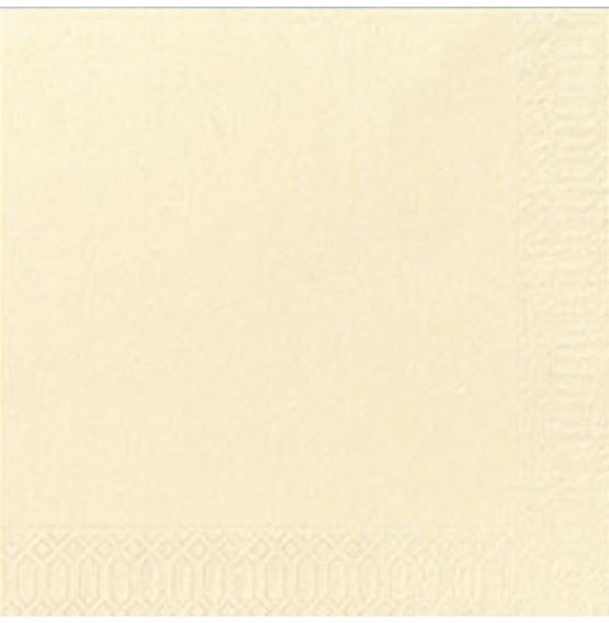 Duni Tissue Napkins 3ply Cream