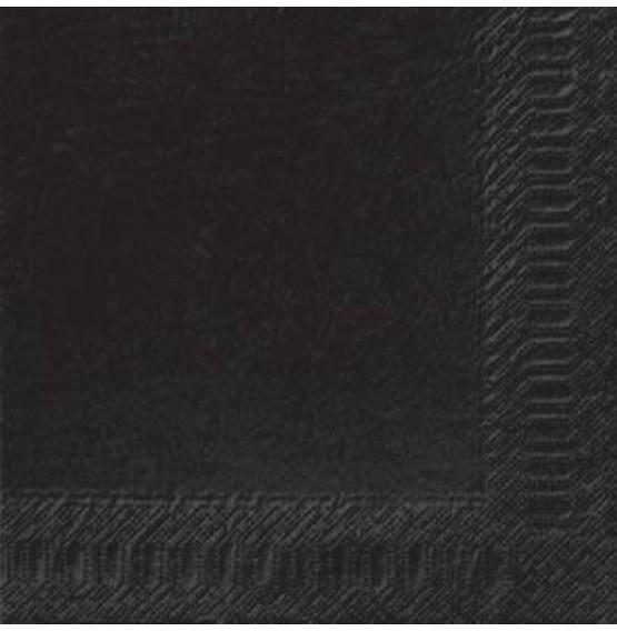 Duni Tissue Napkins 3ply Black