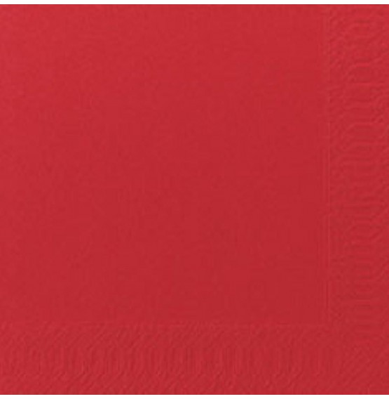 Duni Tissue Napkins 3ply Red