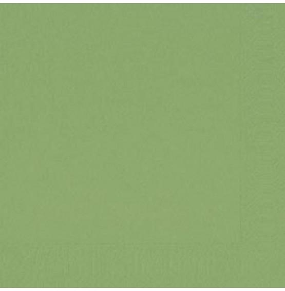 Duni Tissue Napkins 3ply Leaf Green