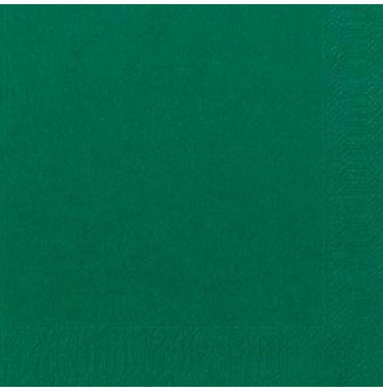 Duni Tissue Napkins 3ply Dark Green