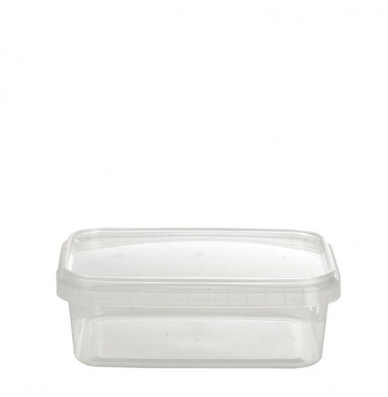 Tamper Evident Rectangle Container & Lid