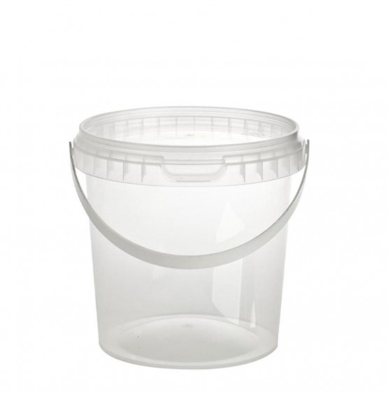 Tamper Evident Round Container & Lid (Handle)