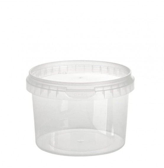 Tamper Evident Round Container & Lid