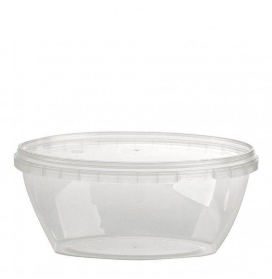 Tamper Evident Oval Container & Lid