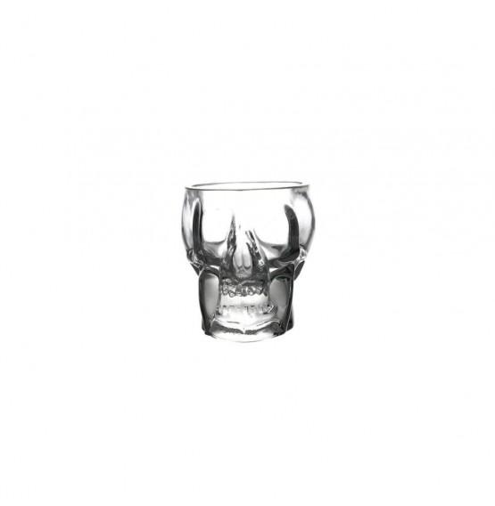 Mini Tiki Skull Shot Glass