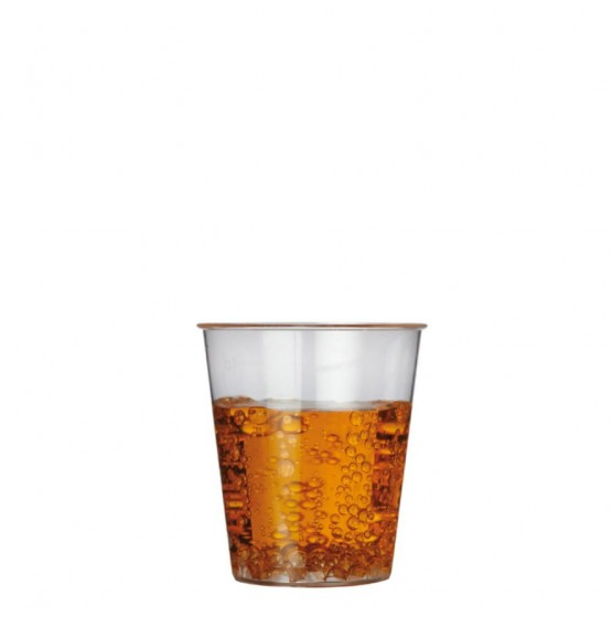 Clear Plastic Shot Glass