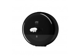 SmartOne Mini Toilet Roll Dispenser Black