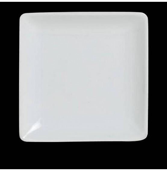 Varick Cafe Porcelain Square Plate