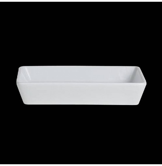 Varick Cafe Porcelain Rectangle Deep Tray
