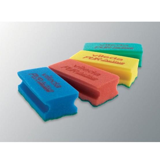 Yellow Puractive Foam Scourer
