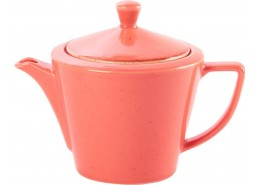 Seasons Coral Conic Teapot