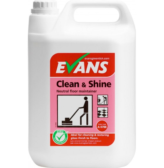Clean & Shine Floor Maintainer