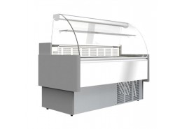 249L Curved Glass Serve Over Counter