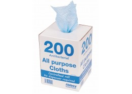 Blue Antibacterial All Purpose Cloth