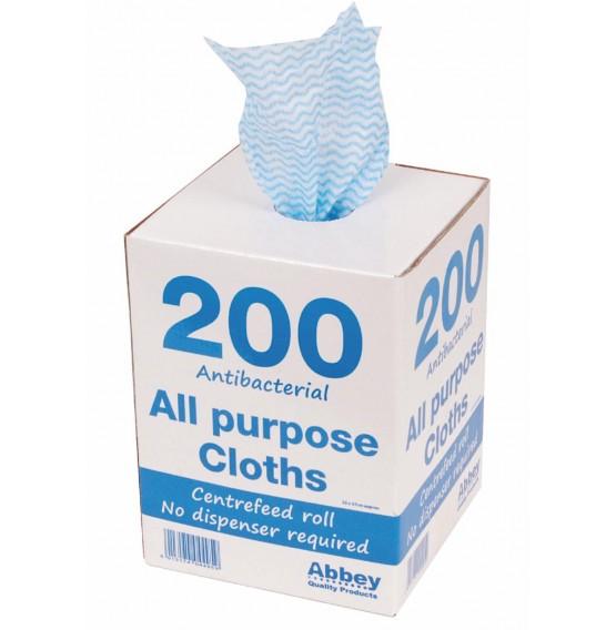 Blue Antibacterial All Purpose Cloth