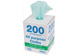 Green Antibacterial All Purpose Cloth