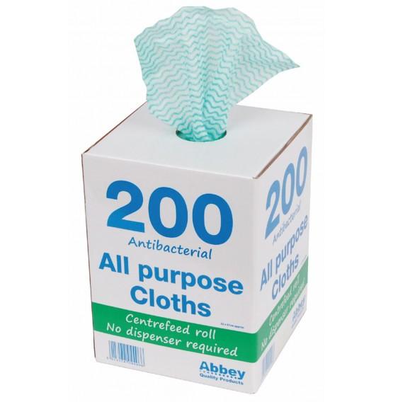 Green Antibacterial All Purpose Cloth