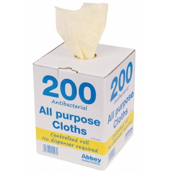 Yellow Antibacterial All Purpose Cloth