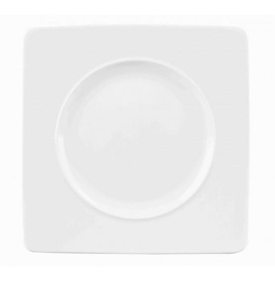 Ambience Medium Rim Square Plate