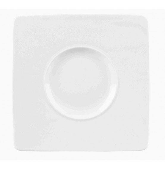 Ambience Wide Rim Square Plate