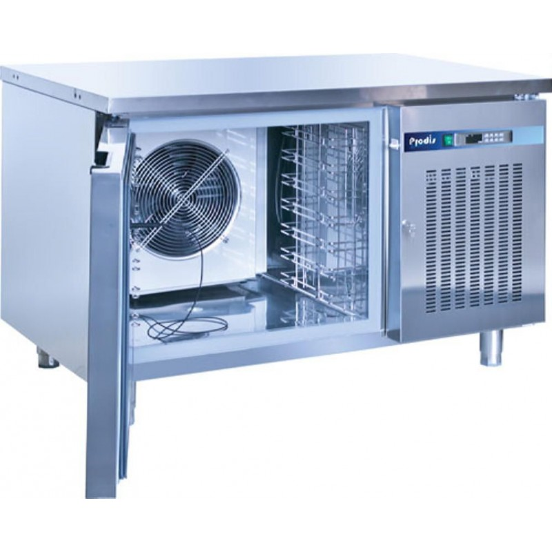 how to build a refrigeration blast chiller