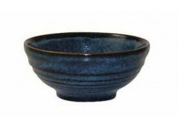 Bit On The Side Ripple Sapphire Snack Bowl
