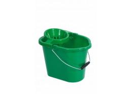 Green Mop Bucket & Squeezer