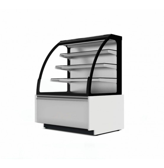 Ambient Open Fronted White/Grey Patisserie Counter