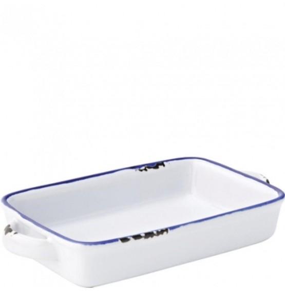 Avebury Blue Small Rectangular Dish