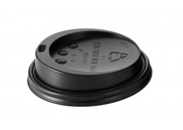 Hot Cup Sip Lids Black